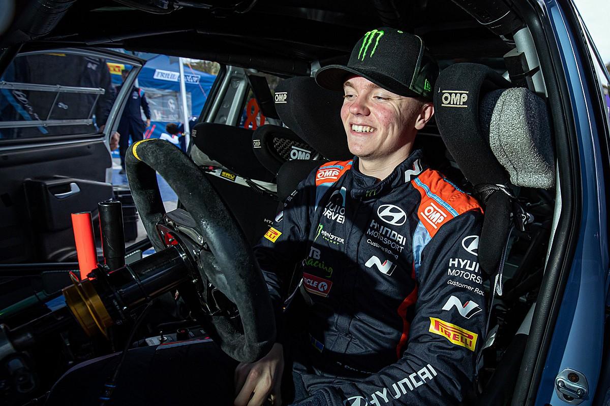 Oliver Solberg to return to Hyundai WRC in Sardinia - Motor Informed