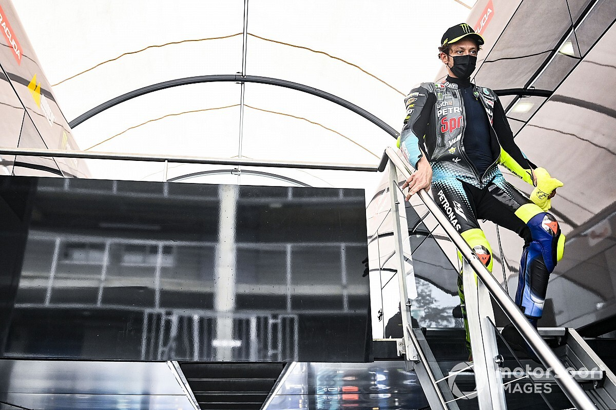 Rossi regrets not inspecting the slopes on Thursday - Motor Informed