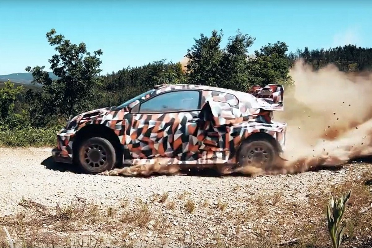 Toyota checks its hybrid WRC for 2022 - Motor Informed