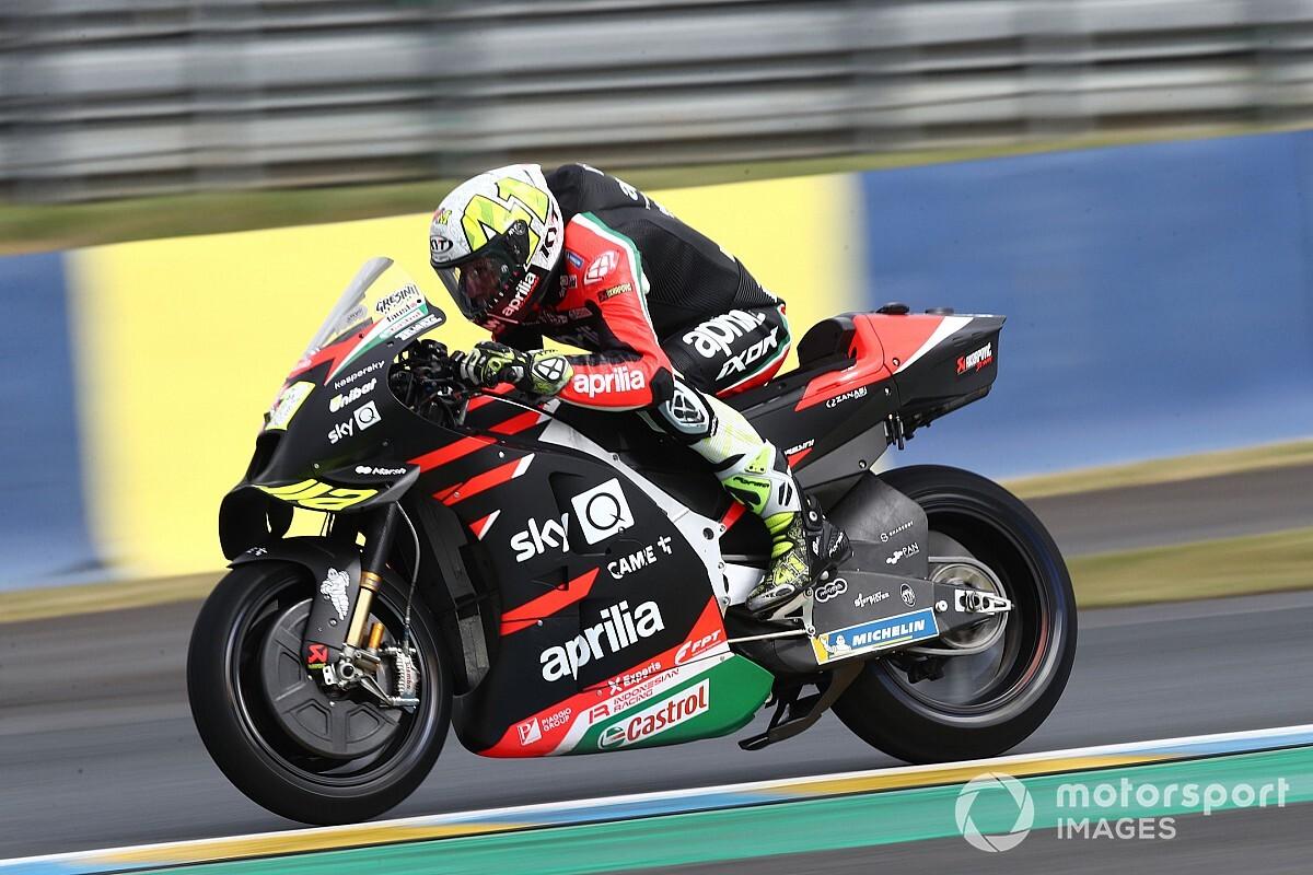 Aleix Espargaro 'extra annoyed than ever' at Le Mans MotoGP DNF - Motor Informed
