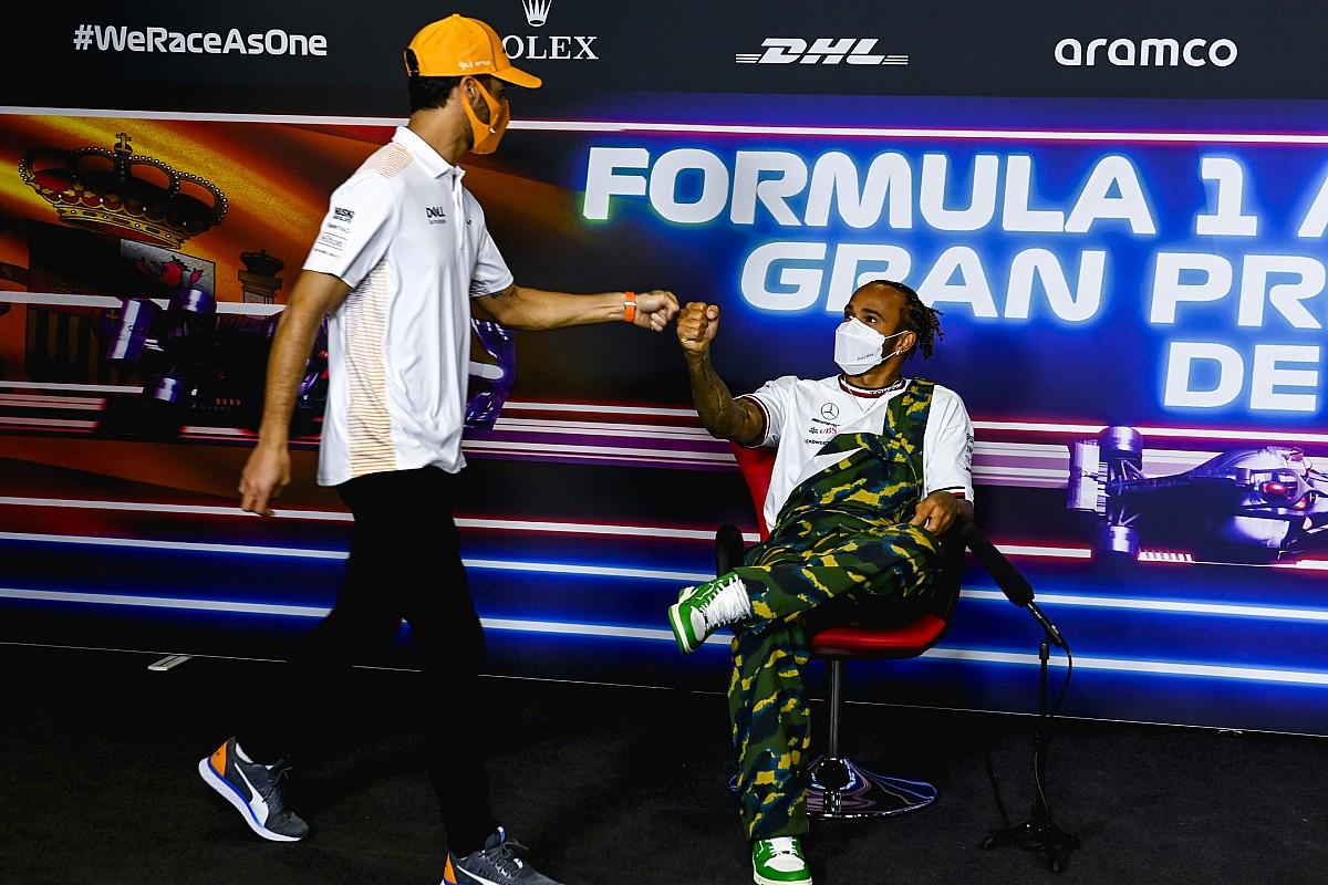 Ricciardo: Hamilton's hard-fought F1 wins silencing doubters - Motor Informed