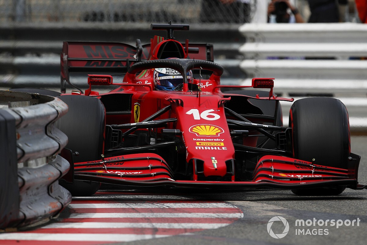 """Ferrari finds """"no critical injury"""" to Leclerc's gearbox after Monaco crash - Motor Informed"""