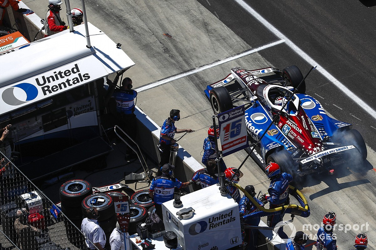 """Rahal's missed shot at Indy 500 win """"goes to sting"""" - Motor Informed"""