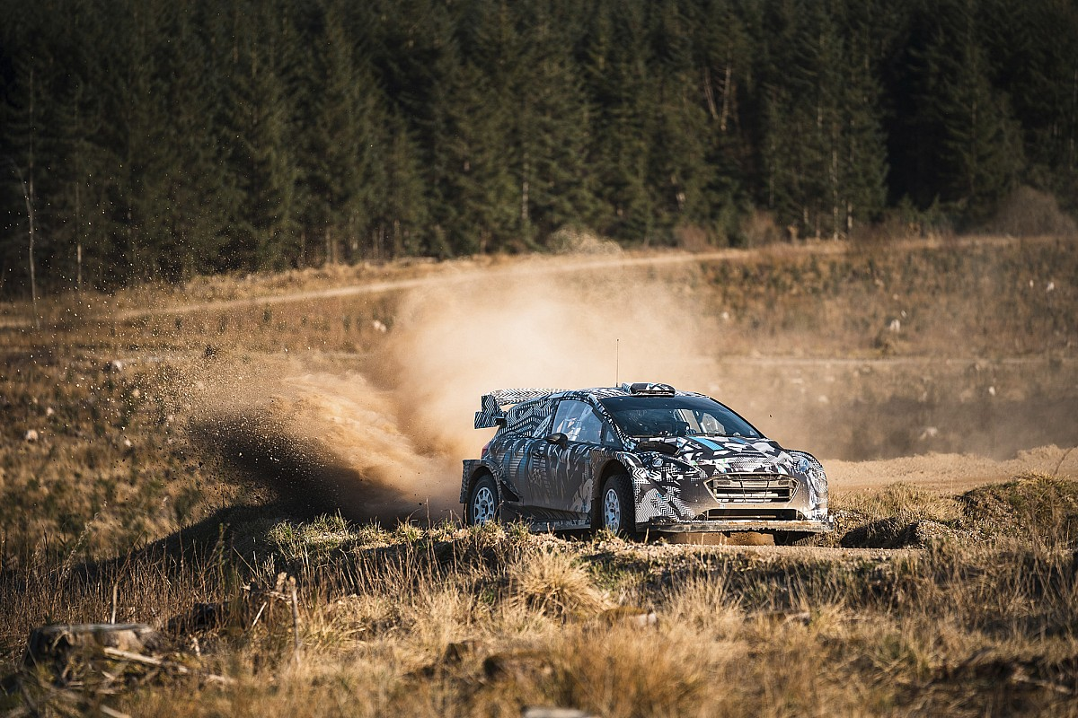 Testing of M-Sport's 2022 WRC automotive continues in Spain - Motor Informed