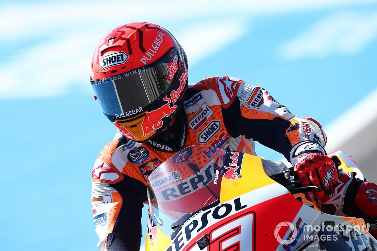 Marquez transferred to hospital after Jerez MotoGP follow crash - Motor Informed