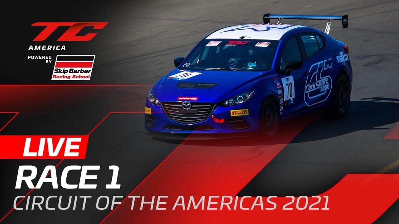 RACE 1   COTA   TC AMERICA 2021 - Motor Informed