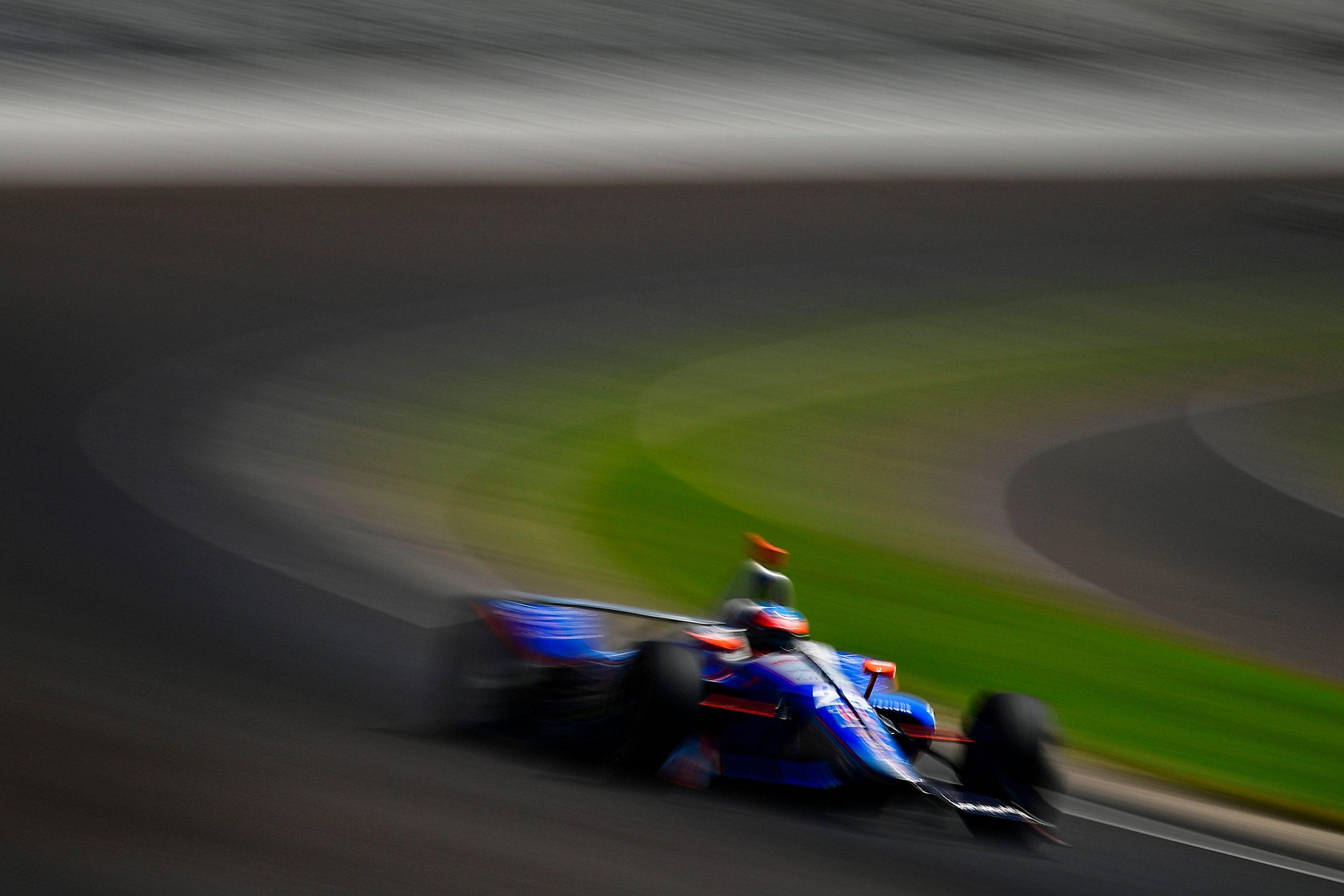 Stefan Wilson, Andretti Autosport Honda, Indianapolis 500 2018