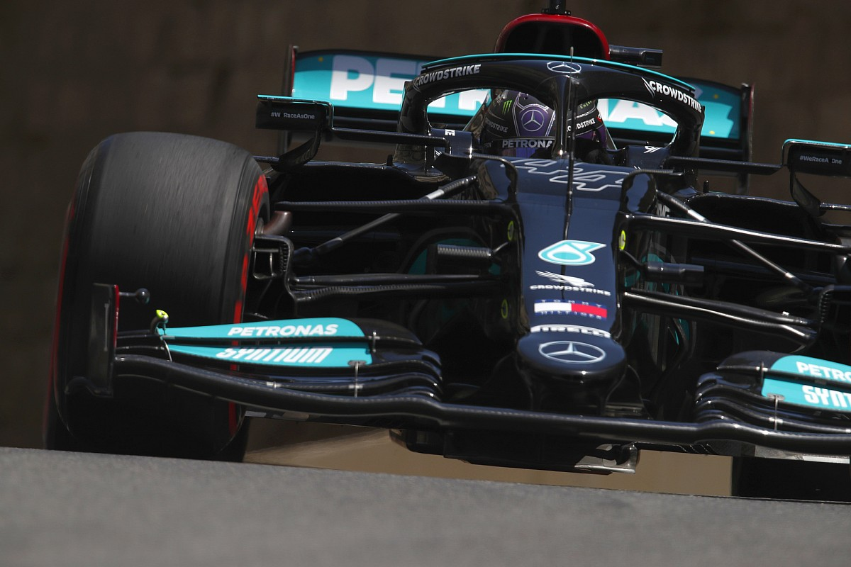 """If I had been Mercedes, """"I might shut her up"""" on the flex fins - Motor Informed"""