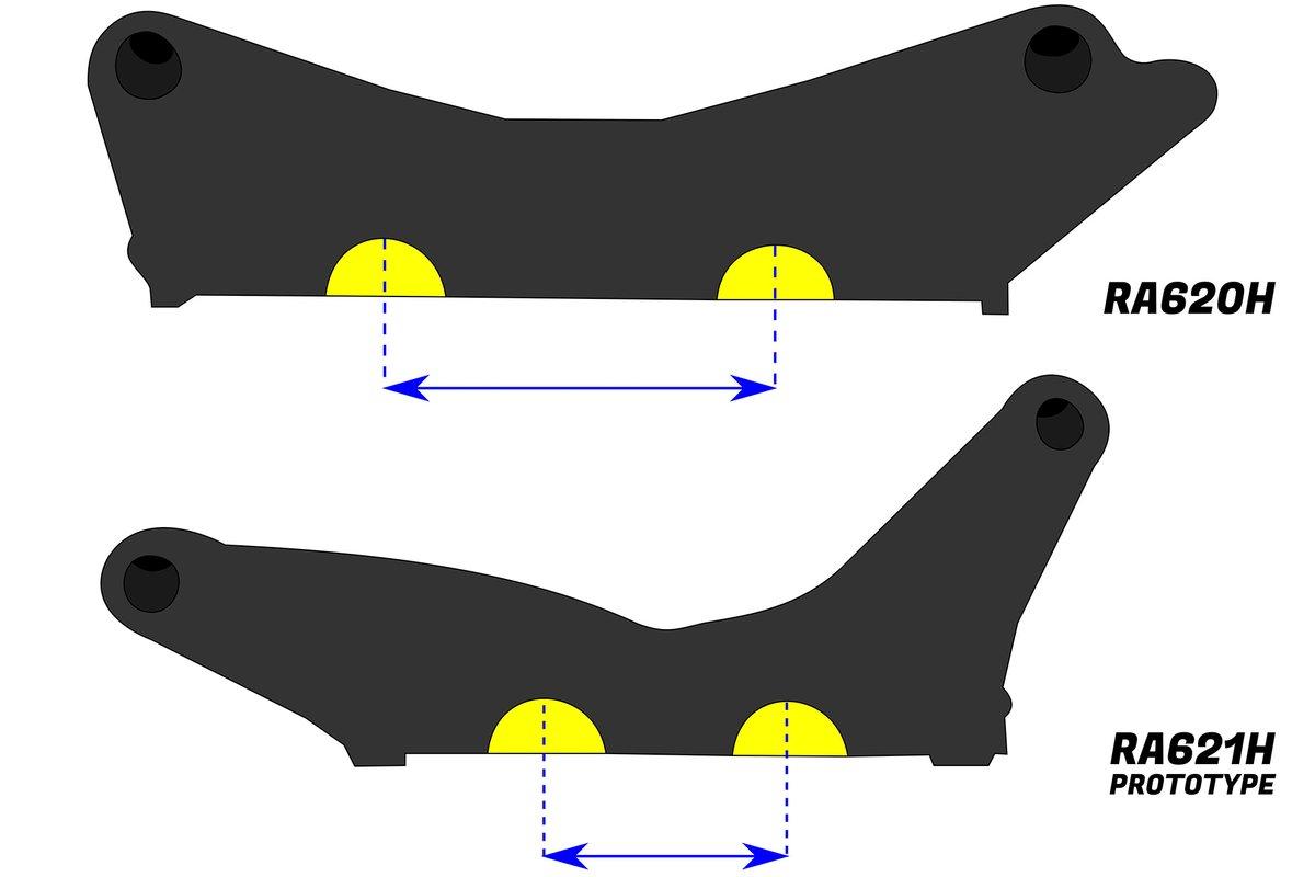 Honda Powerunit CAM distance comparison