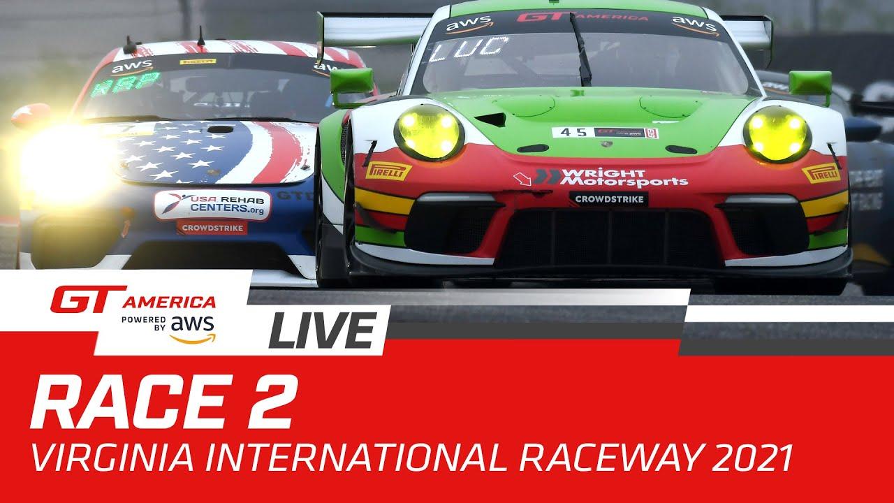 RACE 2 | VIRGINIA | GT AMERICA 2021 - Motor Informed