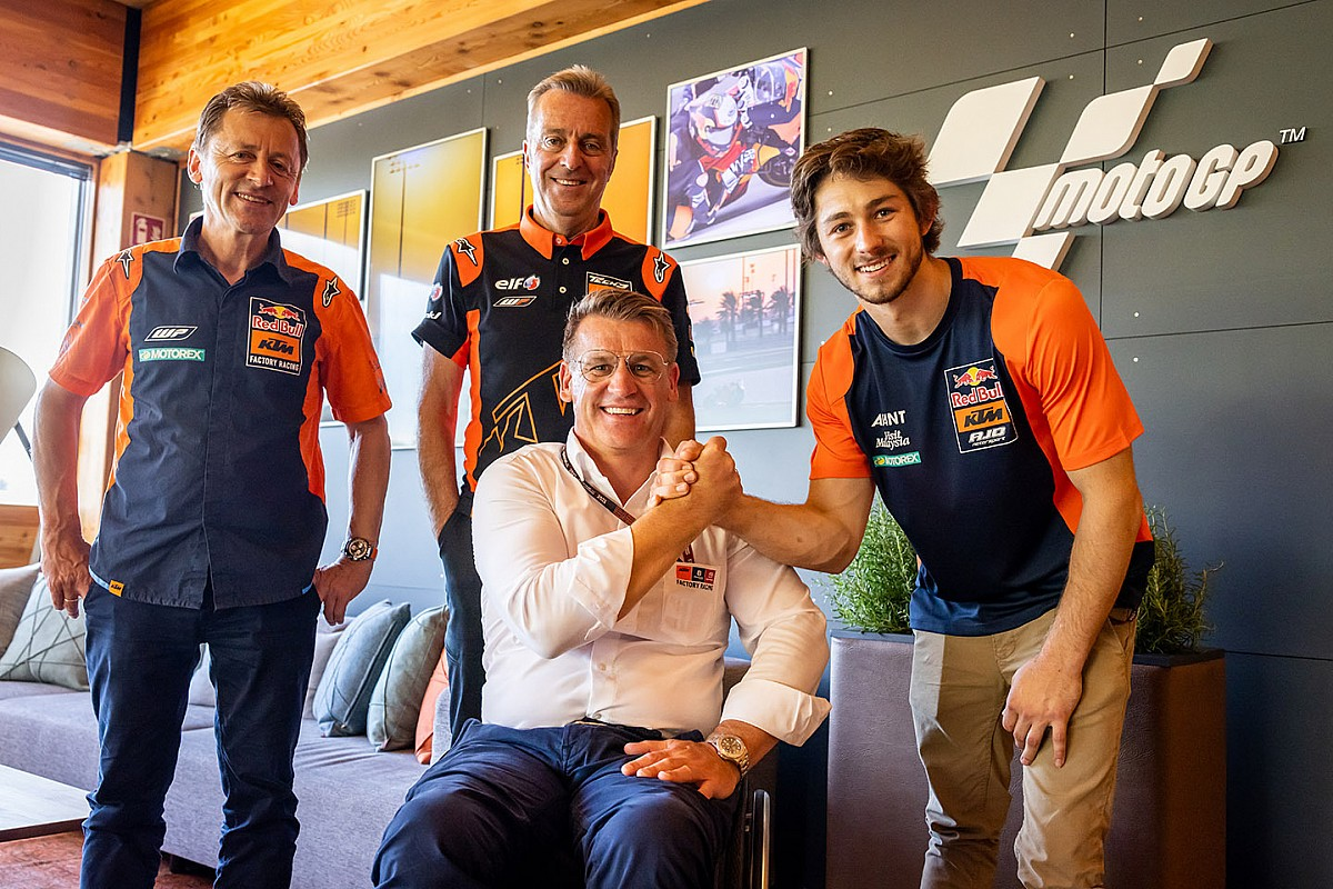 Gardner to step as much as MotoGP with Tech three KTM in 2022 - Motor Informed