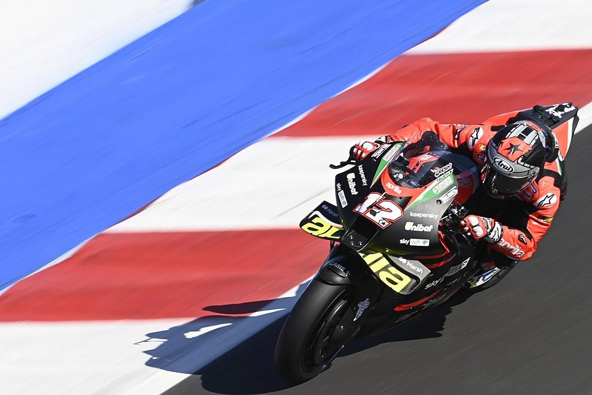 "Vinales: Qualifying ""nonetheless difficult"" on Aprilia MotoGP bike - Motor Informed"