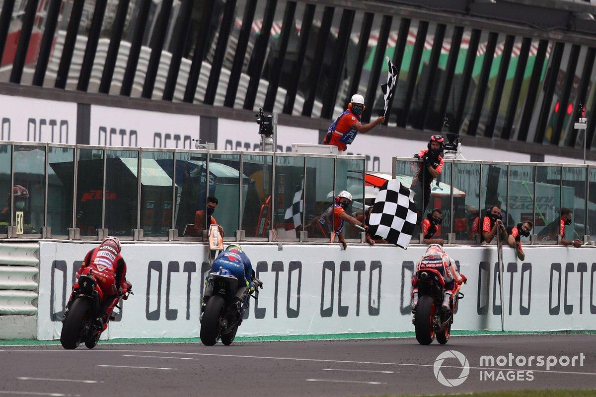 Marc Marquez, Repsol Honda Team, Joan Mir, Team Suzuki MotoGP, Jack Miller, Ducati Team